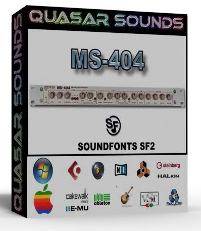 DOEPFER MS 404 SAMPLES WAVE KONTAKT REASON LOGIC HALION
