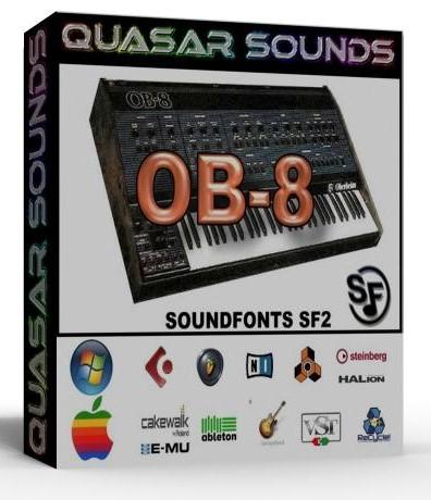 OBERHEIM OB8 SOUNDFONTS SF2