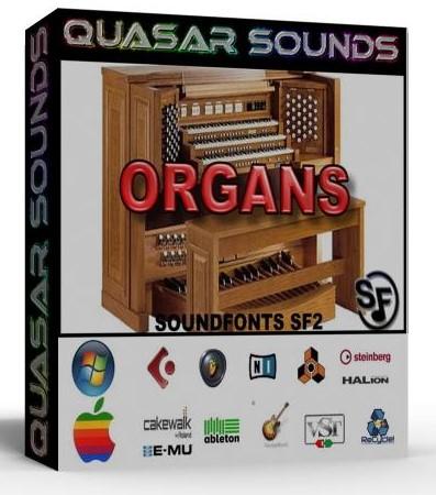 ORGAN SOUNDFONTS INSTRUMENTS SF2