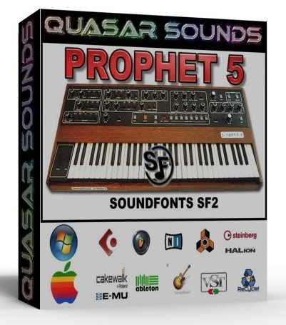 PROPHET 5 SAMPLES WAVE KONTAKT REASON LOGIC HALION