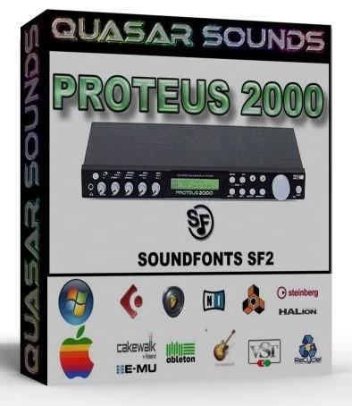 EMU PROTEUS 2000 - SOUNDFONTS SF2