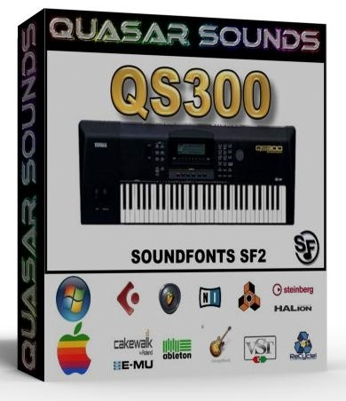 YAMAHA QS-300 SAMPLES WAVE KONTAKT REASON LOGIC HALION  $19.95