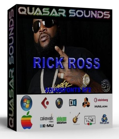 RICK ROSS KIT - SOUNDFONTS SF2  $19.95