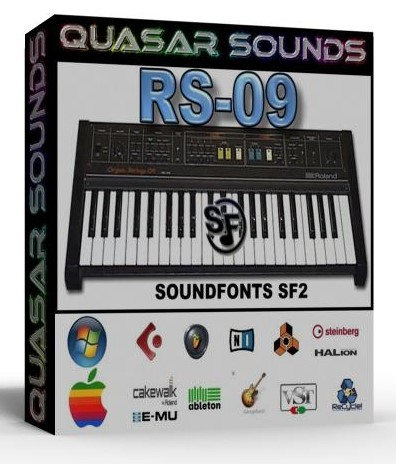 ROLAND RS-09 - SOUNDFONTS SF2