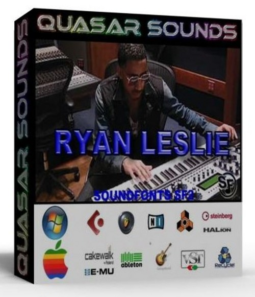 RYAN LESLIE KIT - DRUMS INSTRUMENTS - KONTAKT LOGIC REASON