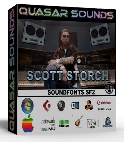 SCOTT STORCH KIT - DRUMS INSTRUMENTS - KONTAKT REASON LOGIC
