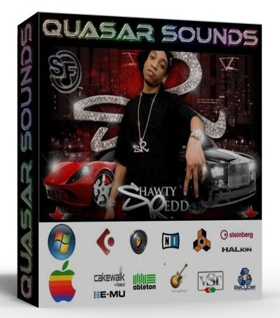 SHAWTY REDD KIT - DRUMS INSTRUMENTS LOGIC REASON KONTAKT