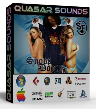 SNOOP DOGG SAMPLES WAVE KONTAKT REASON LOGIC HALION  $19.95