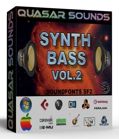 SYNTH BASS PATCHES VOL.2 SAMPLES WAVE KONTAKT REASON LOGIC