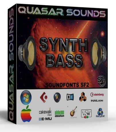 SYNTH BASS PATCHES SAMPLES WAVE KONTAKT REASON LOGIC HALION