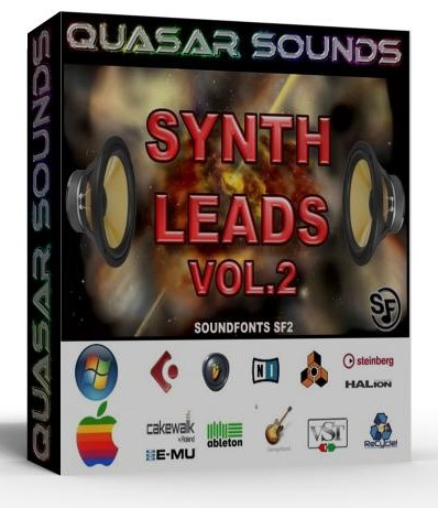 SYNTH LEADS VOL. 2 - WAVE KONTAKT REASON LOGIC HALION