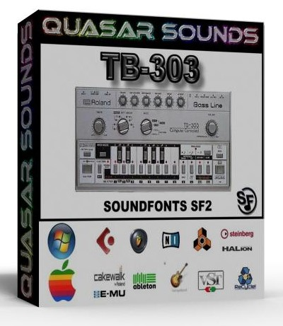 ROLAND TB-303 SOUNDFONTS SF2