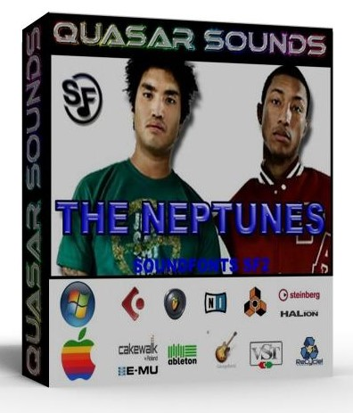 NEPTUNES KIT - DRUMS INSTRUMENTS - KONTAKT LOGIC REASON