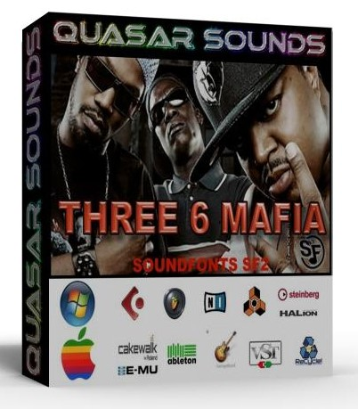 THREE 6 MAFIA KIT - SOUNDFONTS SF2  $19.95