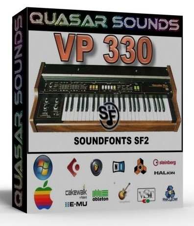 ROLAND VP 330 - SOUNDFONTS SF2