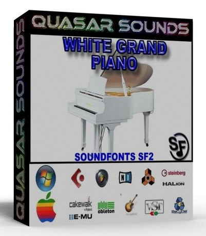 WHITE GRAND PIANO SOUNDFONT INSTRUMENT SF2