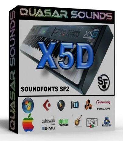 KORG X5D SOUNDFONTS SF2