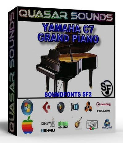 YAMAHA C7 GRAND PIANO Soundfont Sf2 • Download Best FL Studio Trap