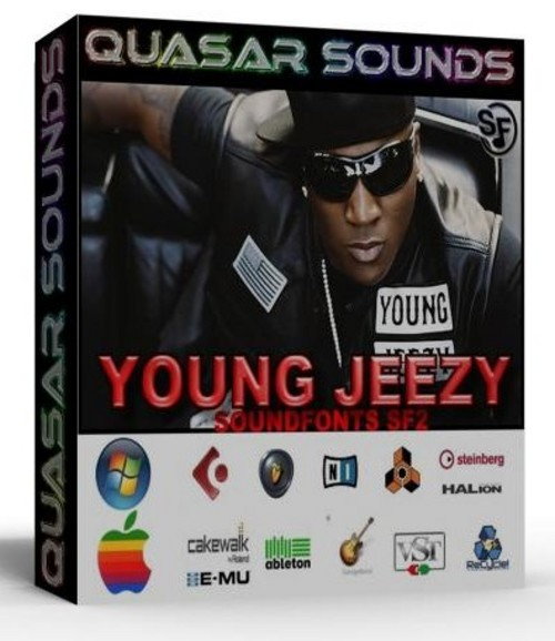 YOUNG JEEZY KIT - SOUNDFONTS SF2  $19.95