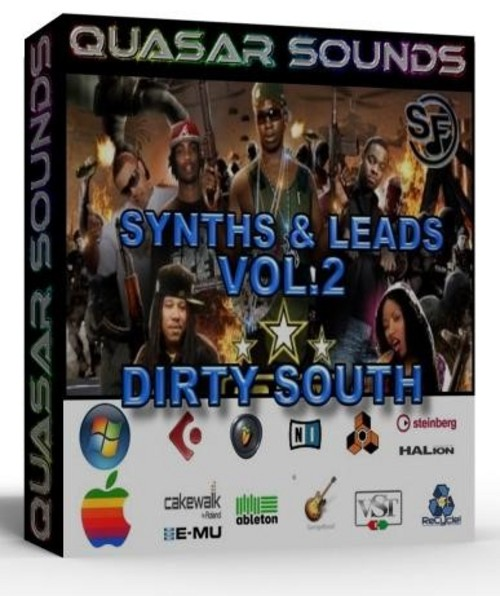 DIRTY SOUTH  TRAP SYNTHS VOL 2   Soundfonts SF2