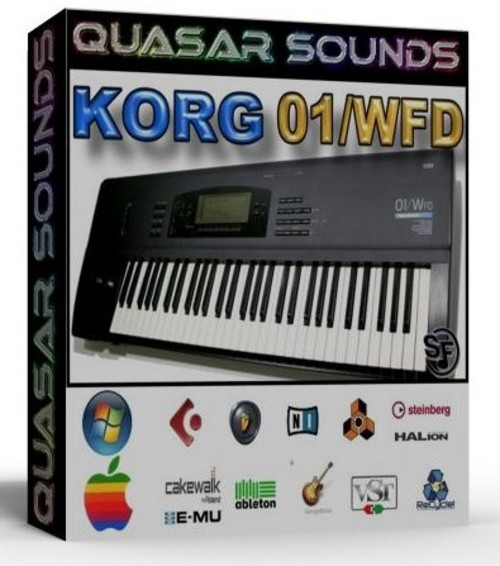 KORG 01 W FD Soundfonts Sf2 • Download Best FL Studio Trap Samples