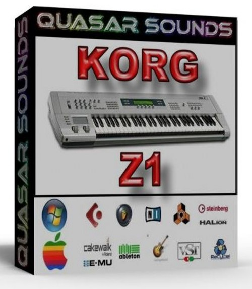 KORG Z 1  SOUNDFONTS SF2