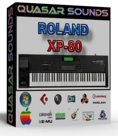 ROLAND  XP 80  SOUNDFONTS SF2
