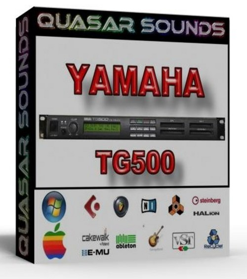 YAMAHA TG500  SOUNDFONTS SF2