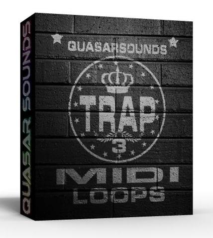 TRAP MIDI LOOPS VOL.3  $ 24.95