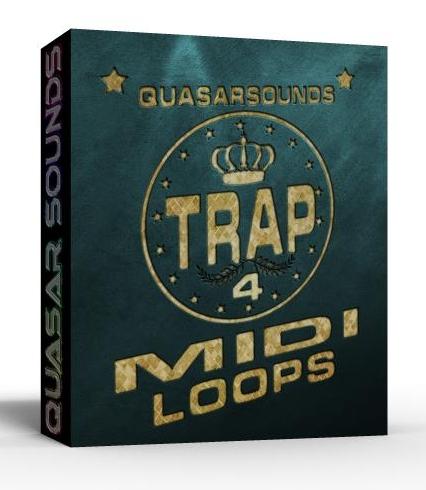 TRAP MIDI LOOPS VOL.4   $ 24.95
