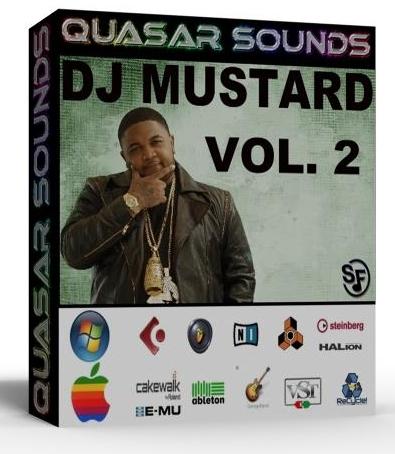 NEW ORIGINAL DJ MUSTARD DRUM & SOUND SAMPLE KIT VOL.2   $24.95